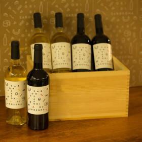 Box 6 Bottiglie Vini Sabores