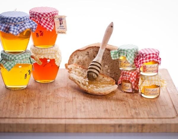 miele in vaso orcio